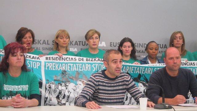 Representantes de ELA en Residencias de Bizkaia
