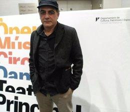 Pep Tosar, durante la presentación de 'Federico García'