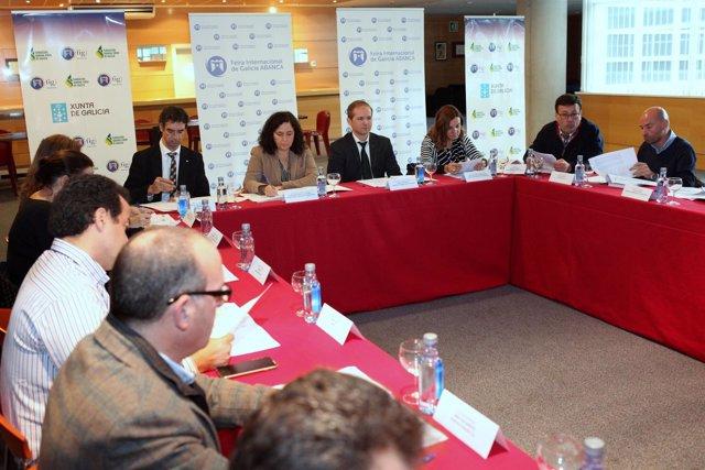 Reunión de la Xunta y la Fundación Semana Verde