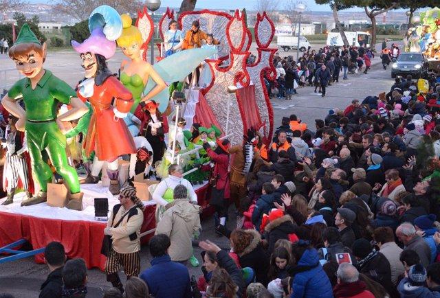 Cabalgata de Reyes de San Sebastián de los Reyes en 2015