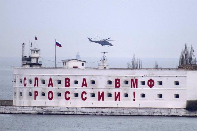 Base militar rusa en Sebastopol, Crimea
