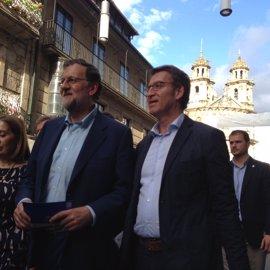 Rajoy asistirá este sábado a la toma de posesión de Feijóo como presidente