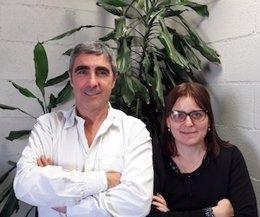 Directores del Barcelona Pensa, J.Díez y N.S.Miras