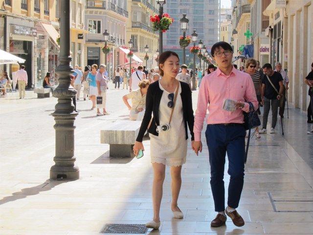 Turismo, turistas, visitantes, chinos, asiáticos, asia, china, foto, cámara