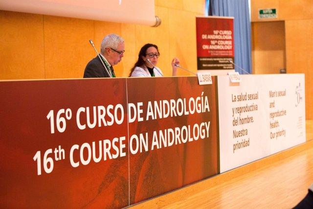 J.Sarquella en el XVI Curso de Andrología de la Fundación Puigvert