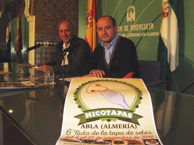 El delegado de Medio Ambiente y el alcalde de Abla