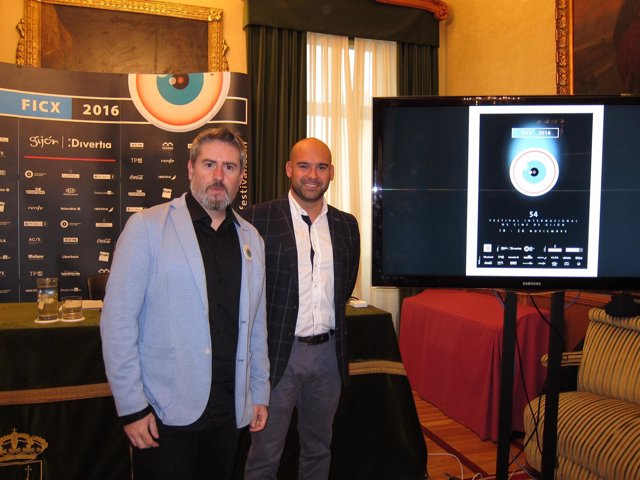 Jesus Martinez Salvador Y Nacho Carballo Presentacion Festival De Cine