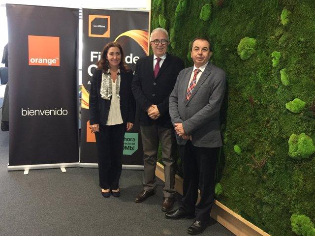 Reunión entre Junta de Andalucía y Orange.