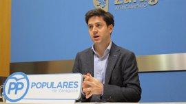 """El PP dice que el informe del Tribunal de Cuentas detecta """"irregularidades"""" en el tranvía"""