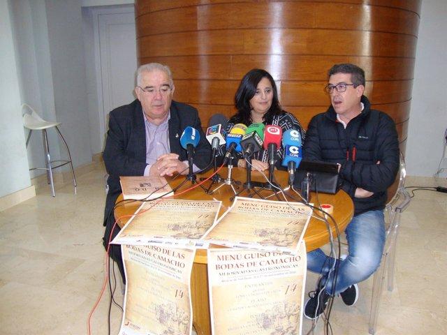 NP Presentación De Las XII Jornadas Gastronómicas Del Guiso De Las Bodas De Cama