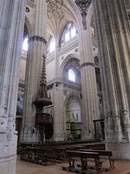 Interior de la Catedral de Salamanca