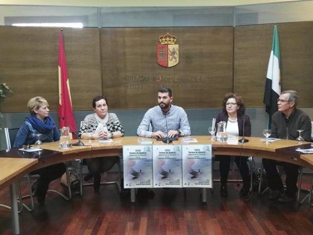 Presentación del Torneo de Ajedrez de la Diputación de Cáceres