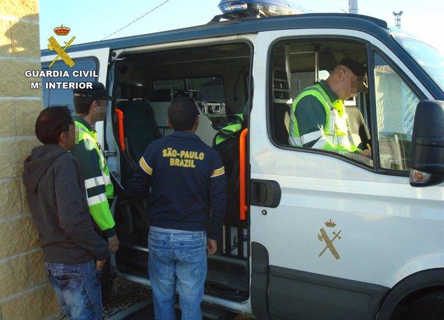 La Guardia Civil Detiene A Una Persona Por Circular Al Doble De La Velocidad Per