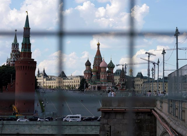 Vista de Moscú con San Basilio al fondo