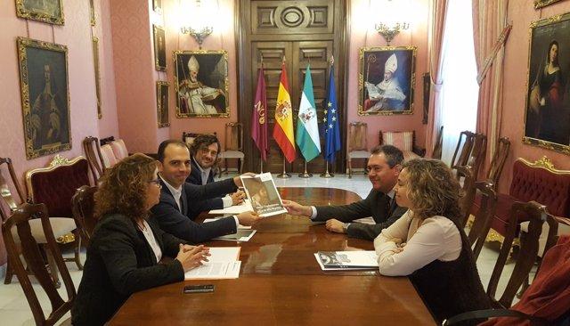 REunión de Ciudadanos con el gobierno local sobre el Año Murillo