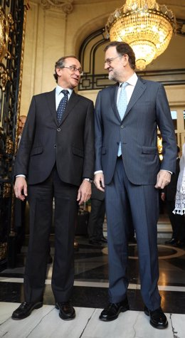Alfonso Alonso y Mariano Rajoy