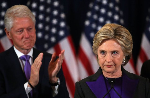 Hillary Clinton reconoce su derrota