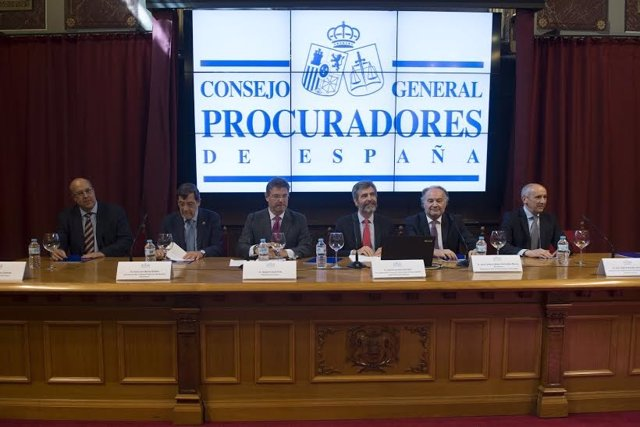 Inauguración del XIV Congreso de Procuradores en Bilbao.