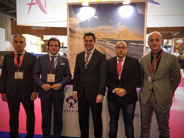 La nueva imagen de Roquetas de Mar se ha presentado en la 'World Travel Market'.