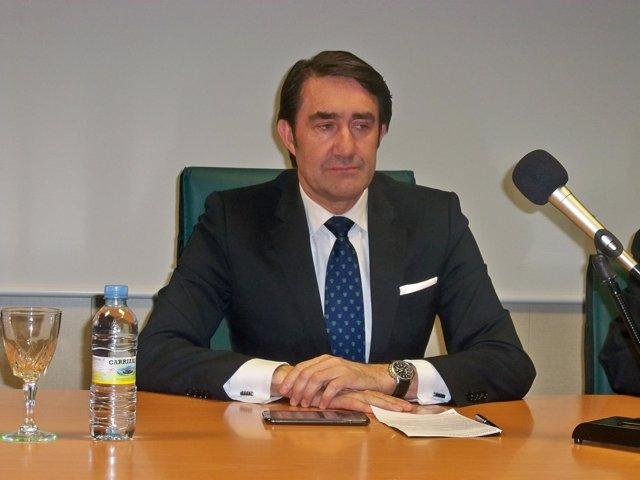 Suárez-Quiñones, en las jornadas sobre minería en León.