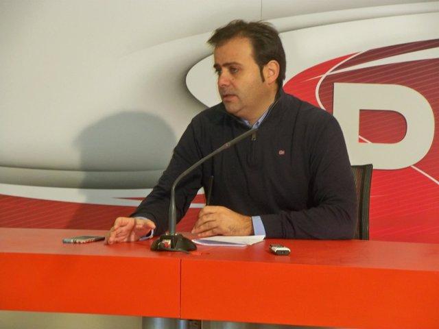 El viceportavoz socialista en las Cortes de Castilla y León, Tino Rodríguez