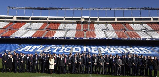 Asamblea de LaLiga en el Calderón