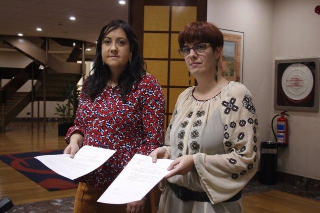 Asun Merinero y Neskutz Rodríguez