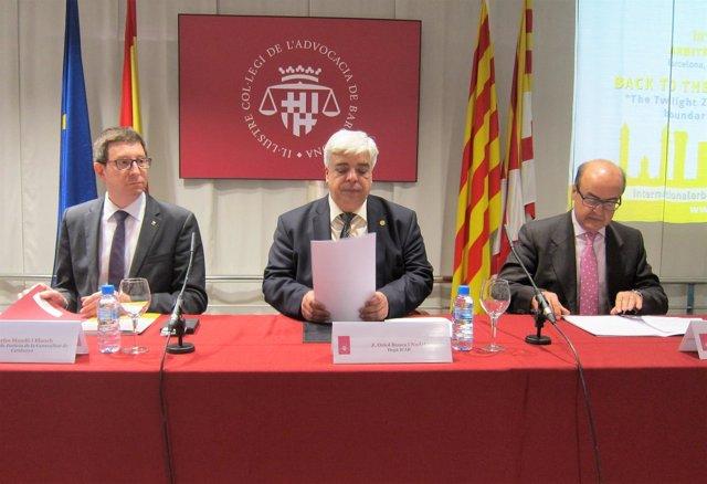 Carles Mundó, Oriol Rusca y Jesús María Barrientos