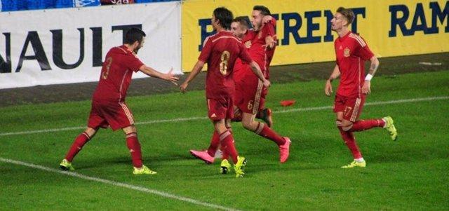 La Selección española Sub-21