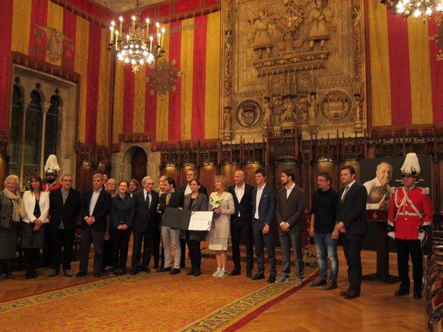 Homenaje de la ciudad de Barcelona al fallecido Johan Cruyff