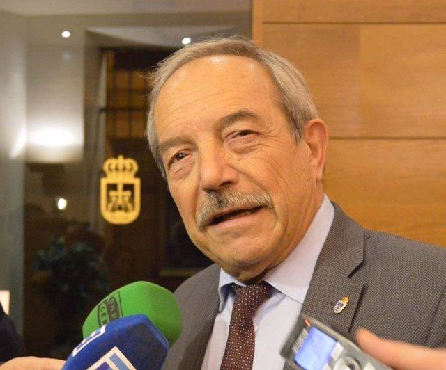El Alcalde de Oviedo, Wenceslao López (PSOE).