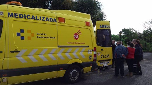 Ambulancia del SUC