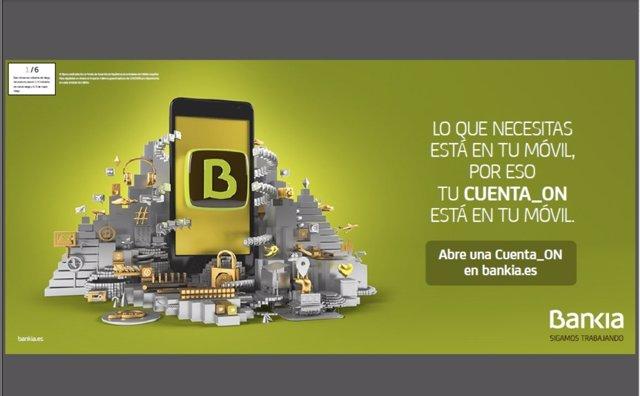 Cuenta online de Bankia