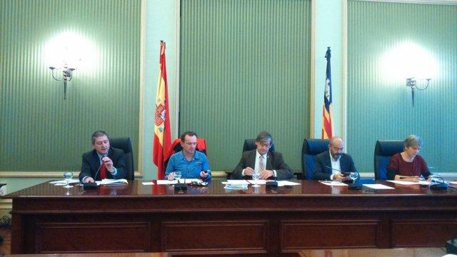 Carlos Jover en comisión de investigación