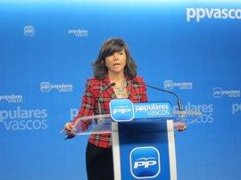 """PP vasco pide a Gobierno vasco, PNV y PSE """"una respuesta contundente"""" a Otegi en defensa de la Ertzaintza"""