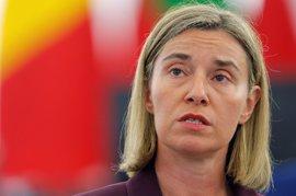 """Mogherini espera viajar """"muy pronto"""" a EEUU para reunirse con la Administración de Trump"""