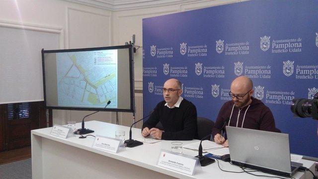Presentación de medidas de movilidad sostenible en Pamplona