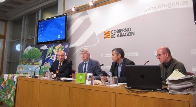 El Gobierno de Aragón ha presentado hoy esta nueva campaña de sensibilización