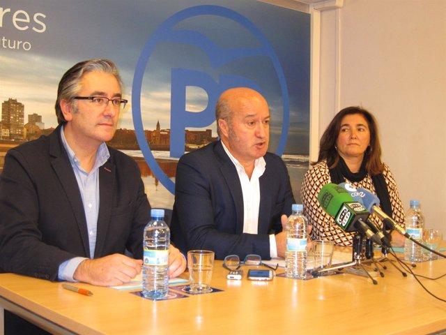 Pablo Glez, Luis Venta, Sofia Cosmen