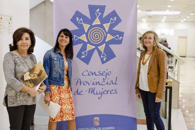 El Consejo Provincial de Mujeres lleva su programa de formación a 4 municipios.