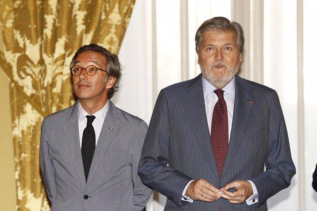 Iñigo Méndez de Vigo en la entrega de las Condecoraciones de Alfonso X el Sabio