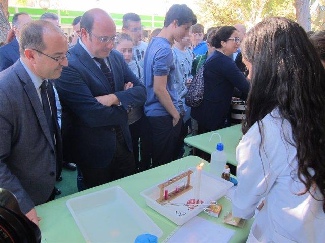 Pedro Antonio Sänchez, en la Semana de la Ciencia y la Tecnología