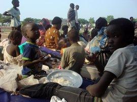 Bruselas anuncia 78 millones de ayuda para apoyar a población desplazada en Sudán del Sur y vecinos