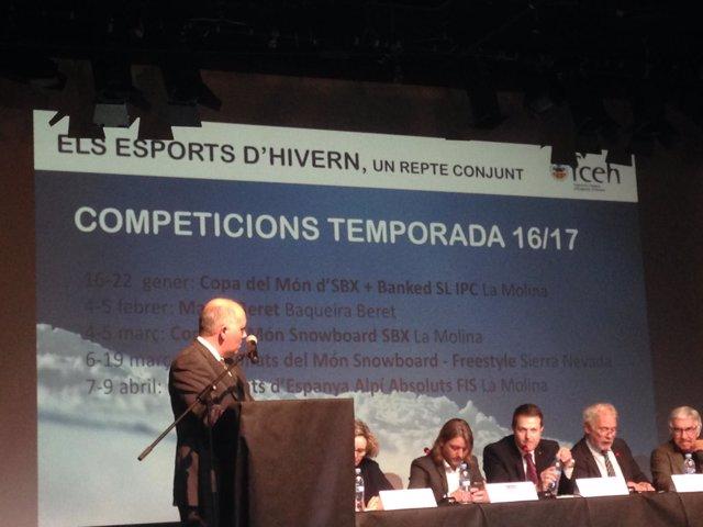 Federació Catalana d'Esports d'Hivern Óscar Cruz temporada invierno