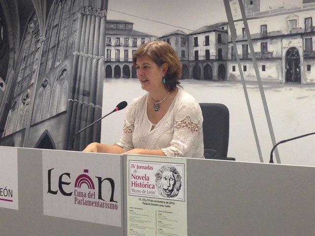 La concejal de Cultura de León