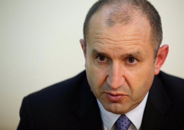 Rume Radev, candidato a la Presidencia de Bulgaria
