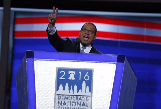 Keith Ellison, candidato a presidir el Partido Demócrata