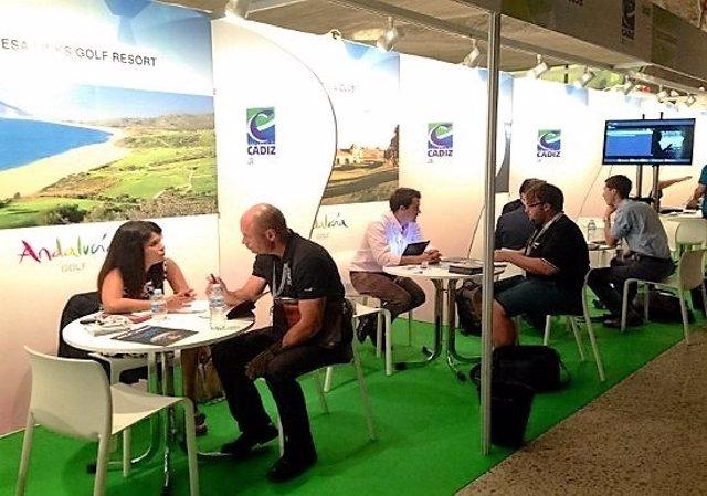 Patronato de Turismo de Cádiz en feria de golf