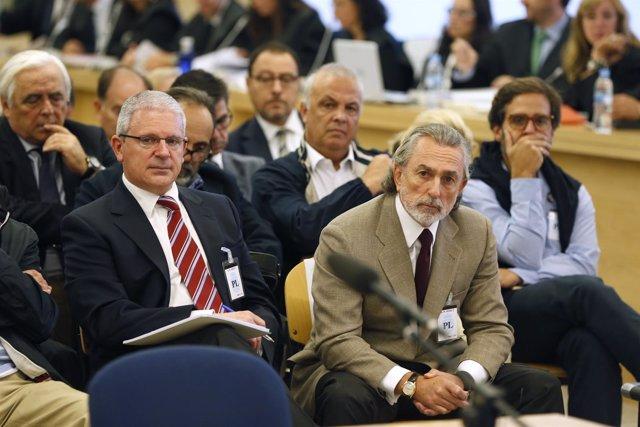 Francisco Correa, presunto cabecilla de la trama Gürtel, y Pablo Crespo