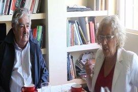 Carmena y el expresidente de Uruguay José Mujica volverán a coincidir en Madrid